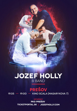 Jozef Hollý & Band – Tour 2018 [SCALA 19.5.2018 o 19:00]