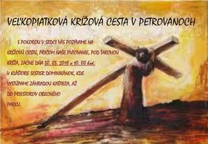 Živá Veľkopiatková krížová cesta v Petrovanoch