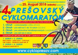 4 Prešovský cyklomaratón [iné 25.8.2018]