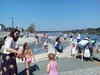 Kika: Kúpacia fontána v PL pri rieke