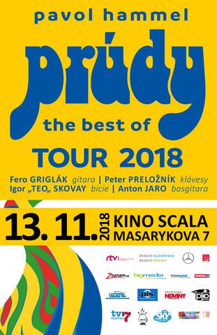 Prešovská hudobná jeseň 2018 - Pavel Hammel a Prúdy [SCALA 13.11.2018 o 19:00]
