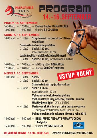 Prešovské trhy spojené s VIII. parkúrovými pretekmi