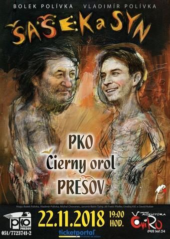 Divadlo Bolka Polívky - Šašek a syn [PKO 22.11.2018 o 19:00]