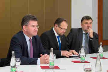 Miroslav Lajčák vystúpil na Prešovskej univerzite