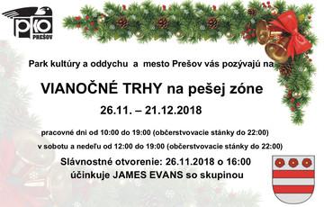 Vianočné trhy Prešov