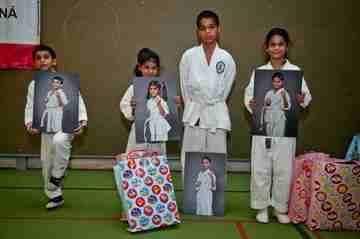 Deti z projektu JUNIORKO