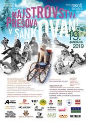 Majstrovstvá Prešova v sánkovaní 2018