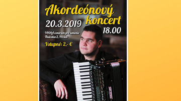 Akordeónový koncert - Jozef Chovanec