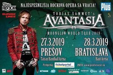 AVANTASIA začína svetové turné v Prešove