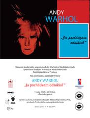 Andy Warhol - Ja pochádzam odnikiaľ