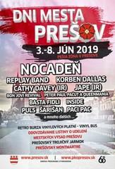 Dni mesta Prešov 2019