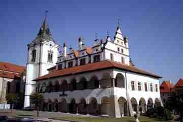 Historické centrum Levoče. Foto - Jano Štovka, KOCR Severovýchod Slovenska