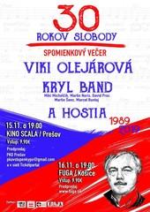 30 rokov slobody: Viki Olejárová a Kryl band