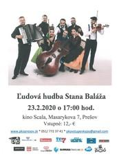 Ľudová hudba S. Baláža