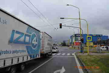 Dopravná nehoda v Prešove