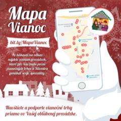 Mapa Vianoc