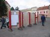 Reklamné plochy na volebnú prezentáciu už stoja na Hlavnej ulici