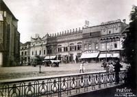 Hlavná ulica - námestie 1926