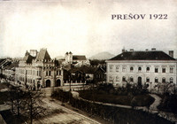 Masaryková ulica 1922