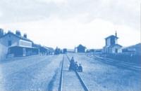 Hlavná stanica (okolo roku 1871)