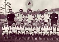 Mužstvo Tatran Prešov 1965