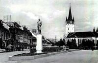 Námestie so sochou Masaryka (1932)