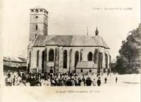 Chrám Sv. Mikuláša v roku 1902