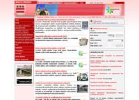 web mostského podniku Technické Služby Mesta Prešov, a.s.