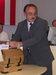 Výhercov cien losoval Peter Janus, riaditeľ DPMP