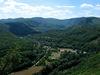 Pohľad zo Skalky na Čiernu horu a dolinu Hornádu