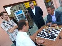 Primátori Prešova a Košíc v šachovom dueli