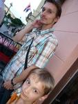 Poradca prešovského primátora, šachový veľmajster Martin Mrva so synom