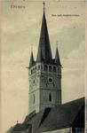 Prešov - veža rímskokatolického kostola