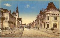 Prešov okolo roku 1920 - Budova pošty