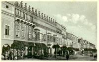 Prešov - Rákocziho dom okolo roku 1930
