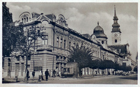 Prešov okolo roku 1948 - Grecko katolicka katedrala
