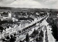 Prešov - pohľad z kostolnej veže