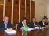 Členovia Mestskej rady: zľava A. Bidovský, zástupkyňa primátora K. Ďurčanská, J. Hurný a P. Hagyari