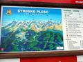 Mapa strediska Štrbské Pleso