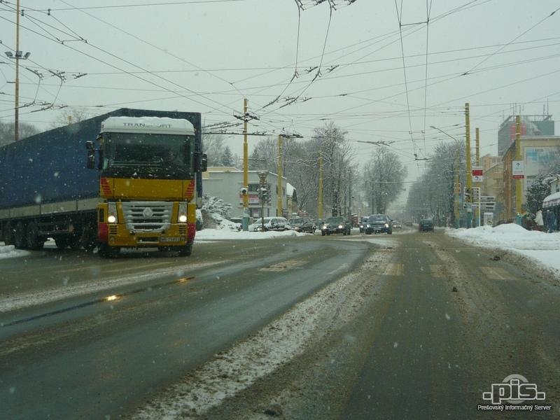 Aktuálne počasie nekomplikuje dopravu v Prešovskom kraji 9d69200ee99