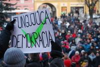 Protest Gorila a ACTA v Prešove
