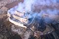požiar hradu Krásna Hôrka zapríčinili deti (foto: Facebook)