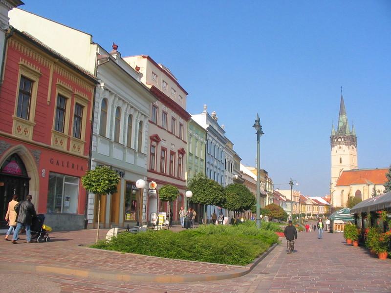 Pešia zóna, Prešov