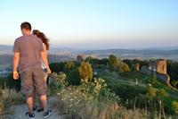 Foto: Na Šarišskom hrade mali tretiu filmovú noc