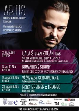 ARTIS – festival komornej hudby [Synagóga 28.8.2014 o 19:00]