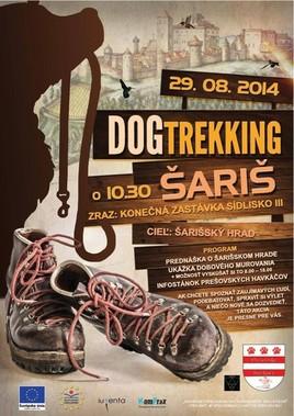 Dog Trekking Šariš [Šariš - hrad 29.8.2014]