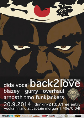 "BACK2LOVE ""with DIDA"" [Drink In 20.9.2014 o 21:00]"