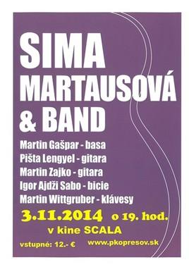 Sima Martausová [SCALA 3.11.2014 o 19:00]