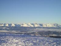 Zimná inšpirácia - Tatry z vrcholu Kráľovky pri asi -15 stupňoch
