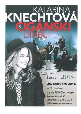 Katka Knechtová & Cigánski diabli [PKO 25.2.2015 o 19:00]